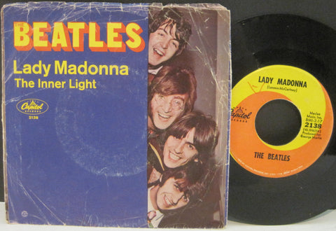 Beatles - Lady Madonna b/w Inner Light  PS
