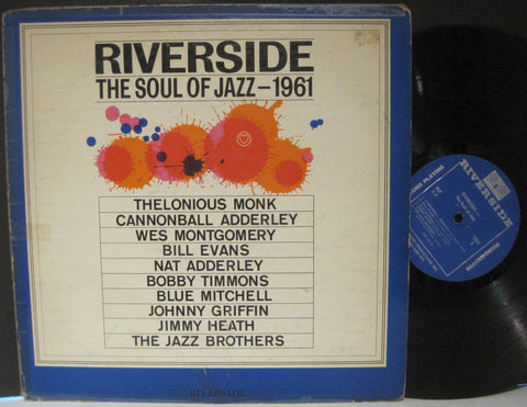 Various Artists - Riverside The Soul of Jazz - 1961