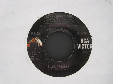 Elvis Presley - Long Legged Girl b/w That's Someone You Never Forget