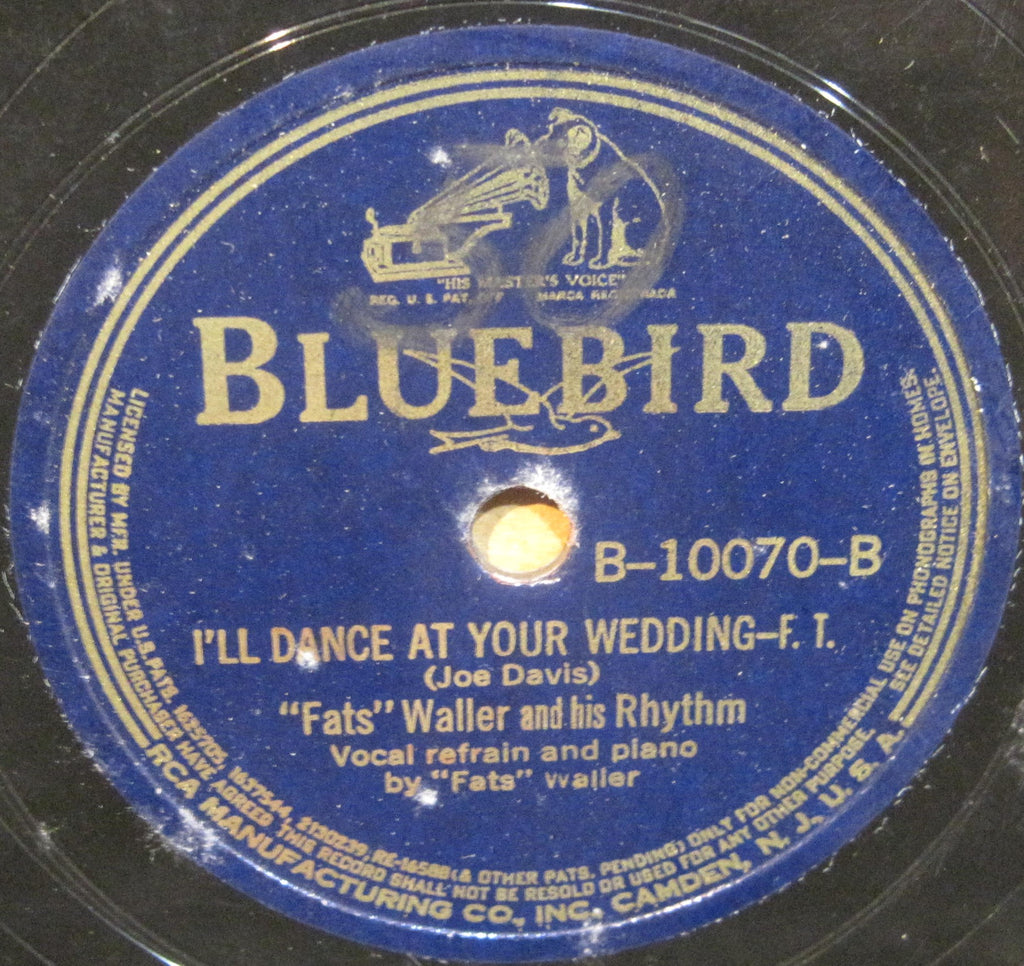 Fats Waller - Love, I'd Give My Life For You b/w I'll Dance At Your Wedding