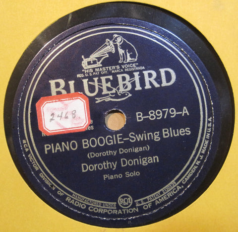Dorothy Donigan - Piano Boogie b/w Every Day Blues