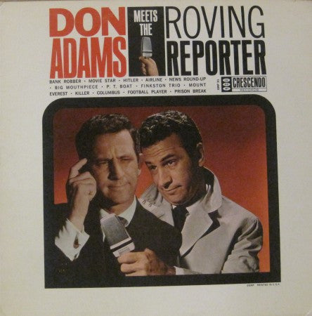 Don Adams - Roving Reporter
