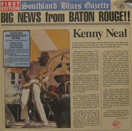 Kenny Neal - Big News from Baton Rouge