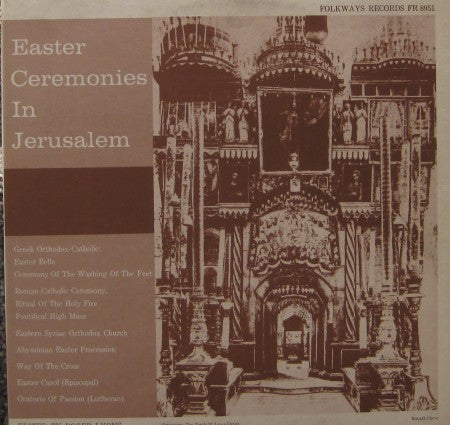 Various - Easter Ceremonies in Jerusalem