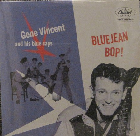 Gene Vincent and His Blue Caps - Bluejean Bop!