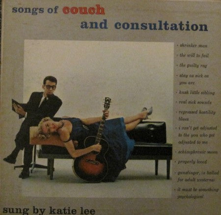 Katie Lee - Songs of Couch and Consultation