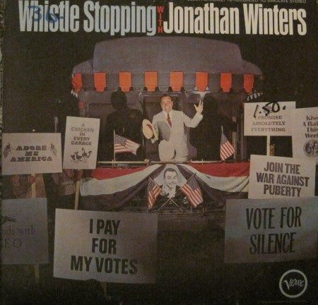 Jonathan Winters - Whistle Stopping