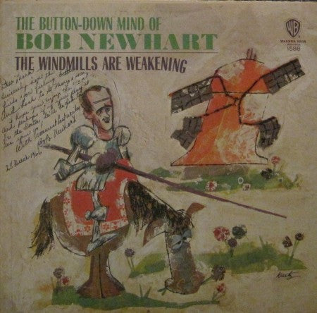 Bob Newhart - Windmills Are Weakening (Autographed)