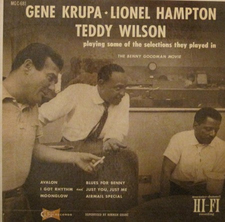 Gene Krupa - with Lionel Hampton & Teddy Wilson