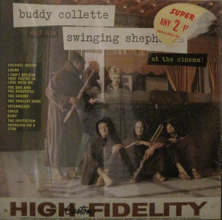 Buddy Collette - At the Cinema! (Sealed)
