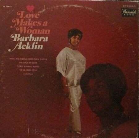 Barbara Acklin - Love Makes a Woman