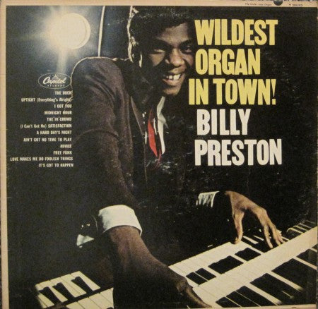 Billy Preston - Wildest Organ in Town!