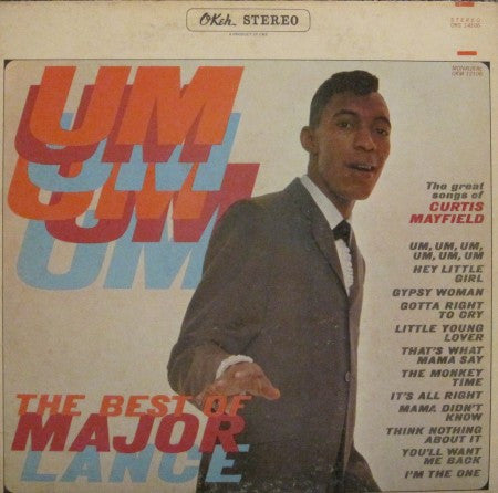Major Lance - Um, Um, Um, The Best of Major Lance