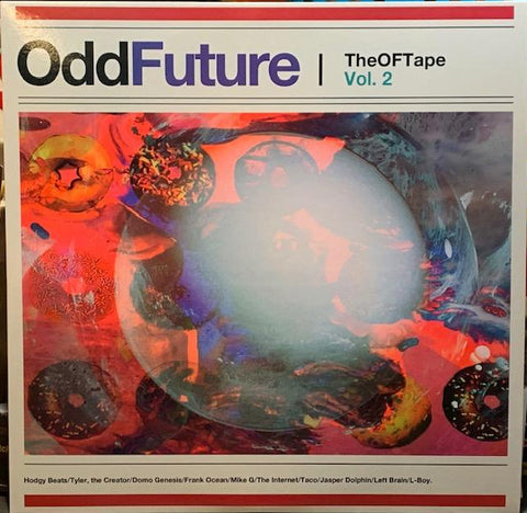 OddFuture - The OFTape Vol 2 - Limited Edition 2 LP import colored Vinyl