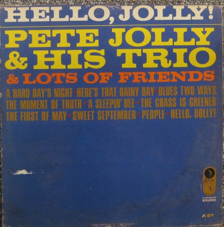 Pete Jolly - Hello, Jolly!