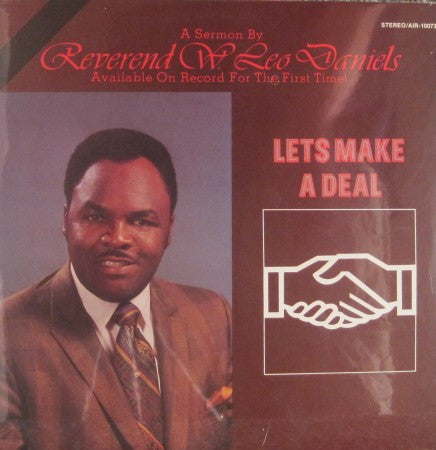 Reverend W. Leo Daniels - Lets Make a Deal