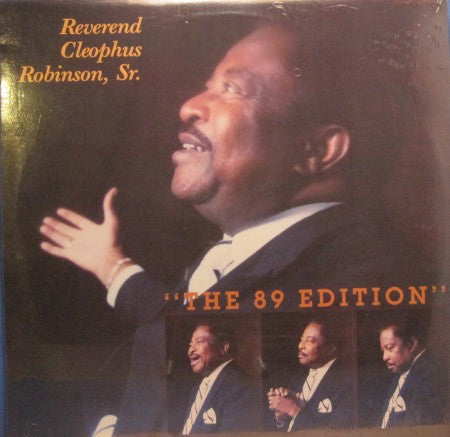 Reverend Cleophus Robinson, Sr. - The 89 Edition