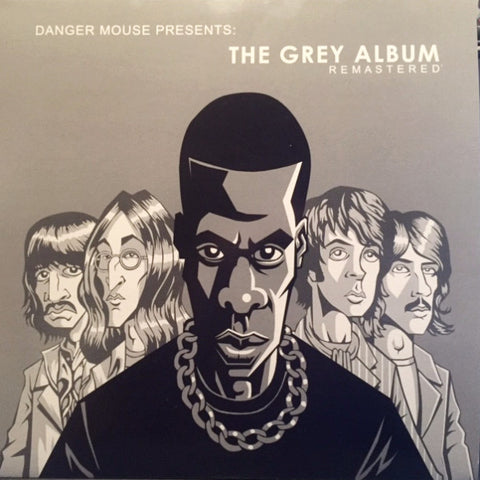 Danger Mouse Presents The Grey Album Remastered 2 LP set Beatles - Color Vinyl