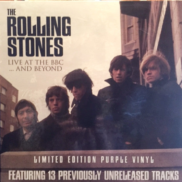 Rolling Stones - Live at the BBC & Beyond - Colored Vinyl with bonus magazine!