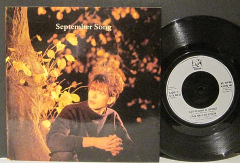 Ian McCulloch - September Song b/w Cockles and Mussels