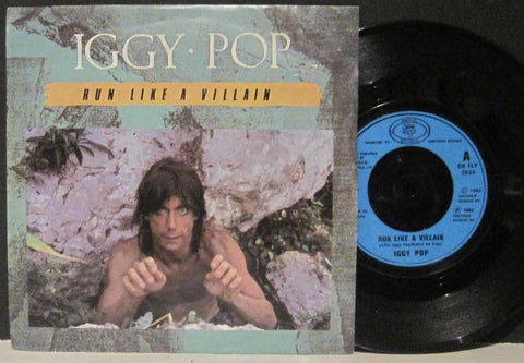 Iggy Pop - Run Like a Villain b/w Platonic