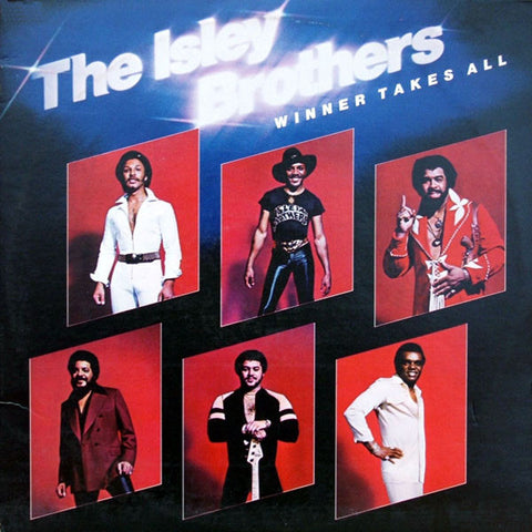Isley Brothers - Winner Takes All - 2 LP set