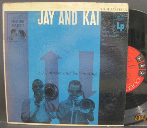 J. J. Johnson and Kai Winding - Jay and Kai 10""