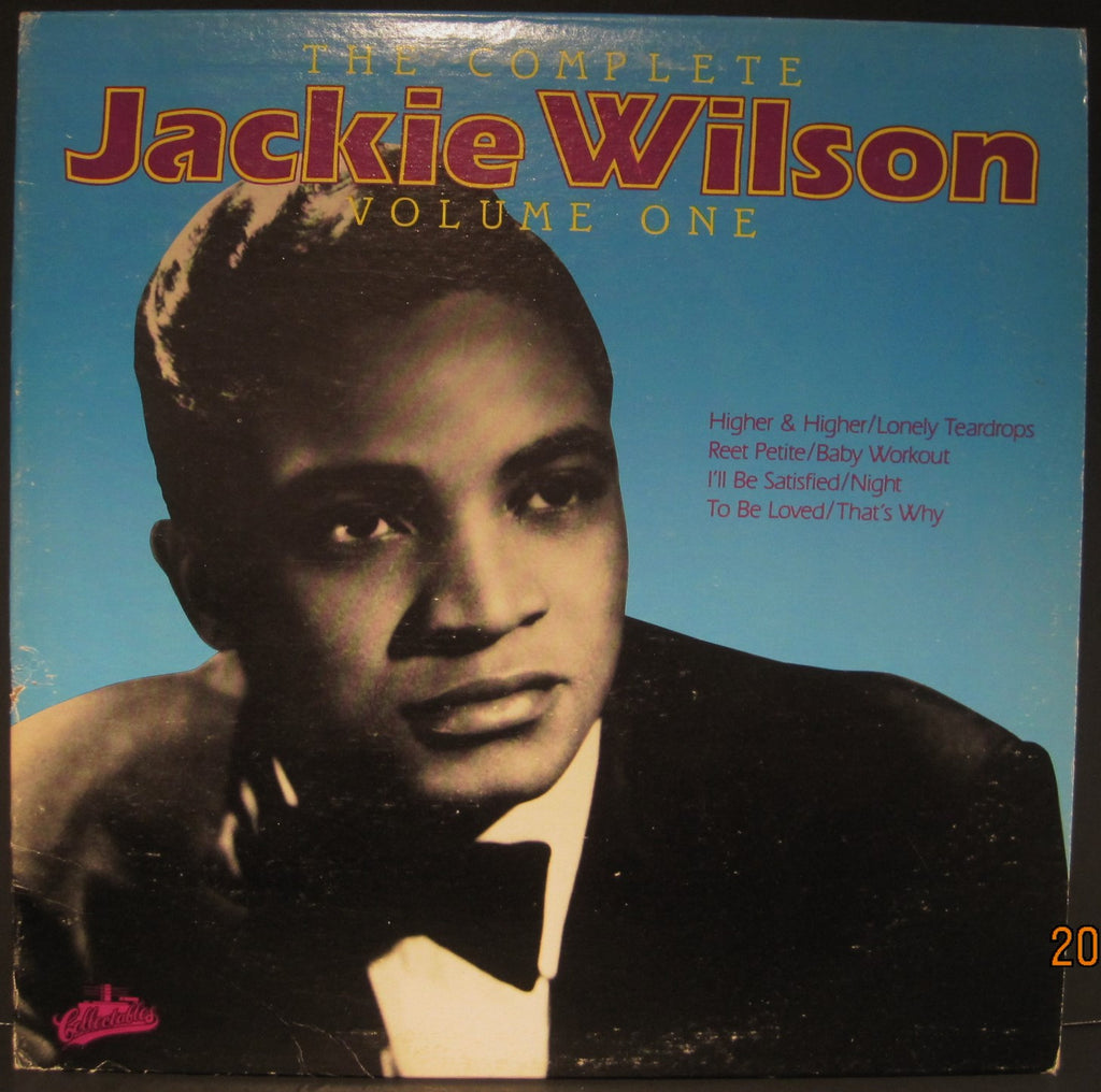 "Jackie Wilson ""The Complete Volume One"""
