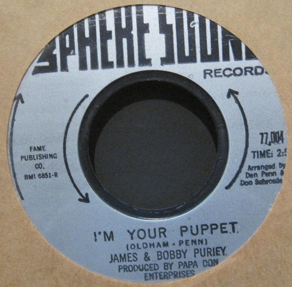James & Bobby Purify - I'm Your Puppet b/w Everybody Needs Somebody