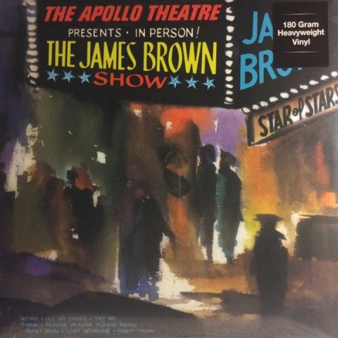 James Brown - Live at the Apollo 180g w/ exclusive gatefold jacket