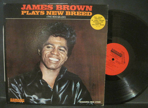 James Brown Plays The New Breed (The Boo-Ga-Loo) w/ Portrait