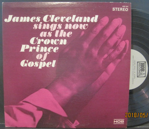 James Cleveland Sings Now As The Crown Prince of Gospel