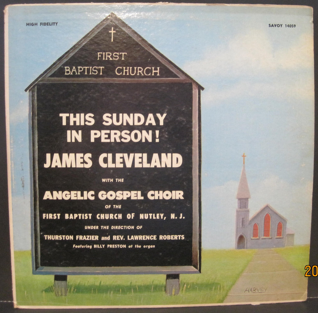 James Cleveland - This Sunday In Person