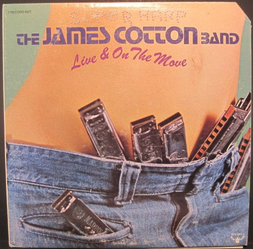 James Cotton - Live & On the Move