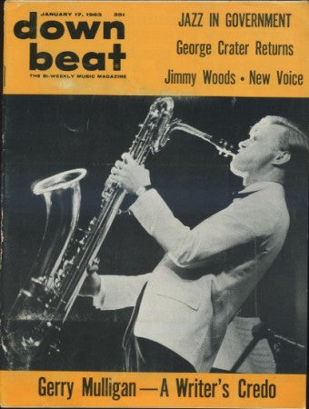 Down Beat - Jan 17, 1963 / Gerry Mulligan