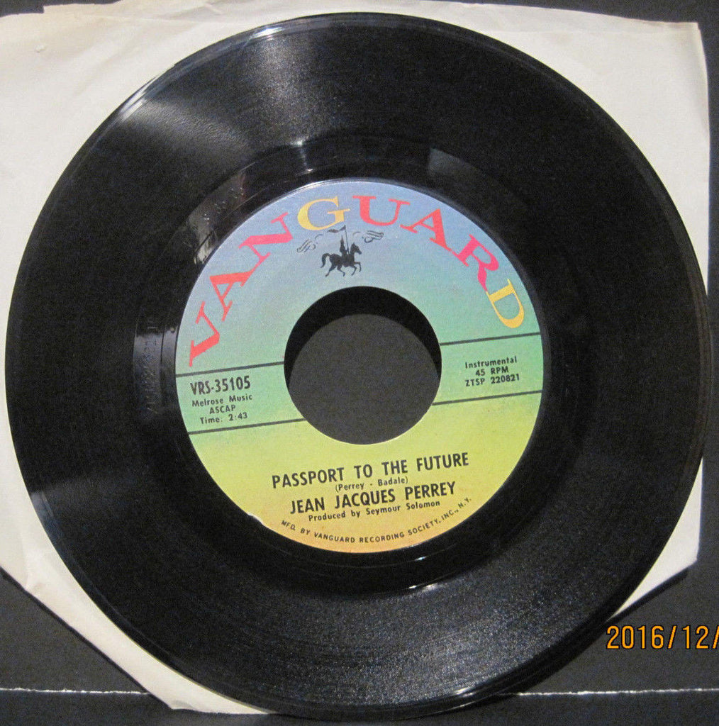 Jean Jacques Perrey - Passport To The Future b/w Country Rock Polka