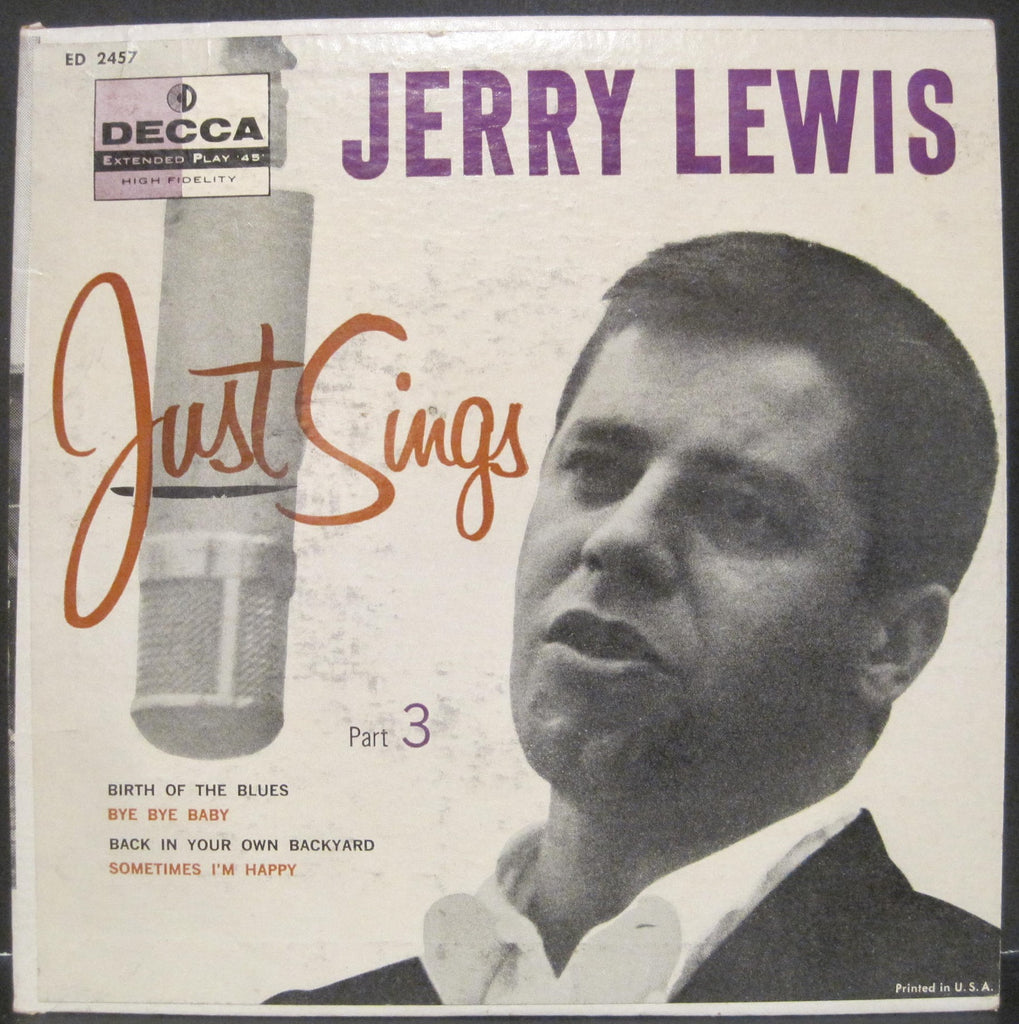 Jerry Lewis Just Sings Ep Part 3