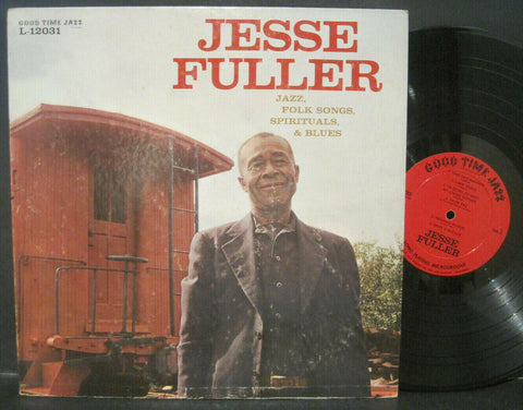 Jesse Fuller - Jazz, Folk Songs, Spirituals & Blues