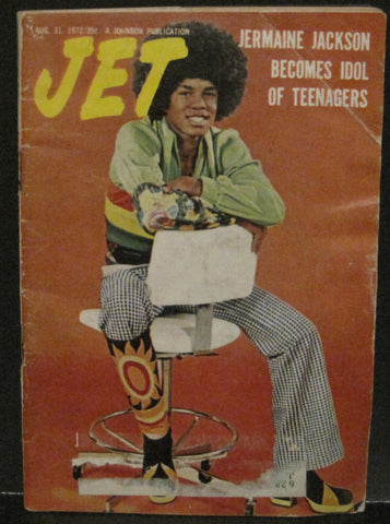 Jet Magazine Aug. 31, 1972 - Jermaine Jackson
