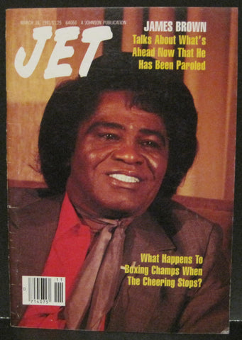 Jet Magazine March 18, 1991 - James Brown