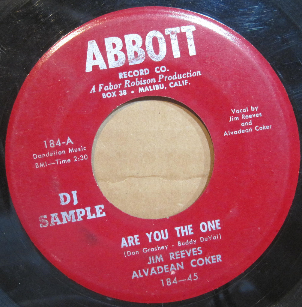 Jim Reeves & Alvadean Coker - Are You The One b/w How Many