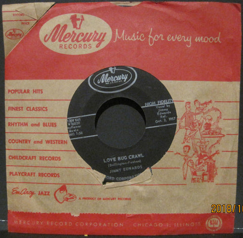 Jimmy Edwards - Love Bug Crawl b/w Honey Lovin'