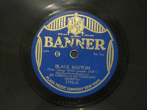 Joe Candullo & His Everglades Orchestra - Black Bottom b/w Messin' Around