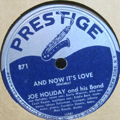 Joe Holiday - Cotton Candy b/w And Now It's Love