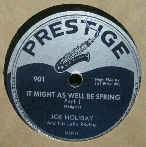 Joe Holiday - It Might As Well Be Spring Part 1 and 2