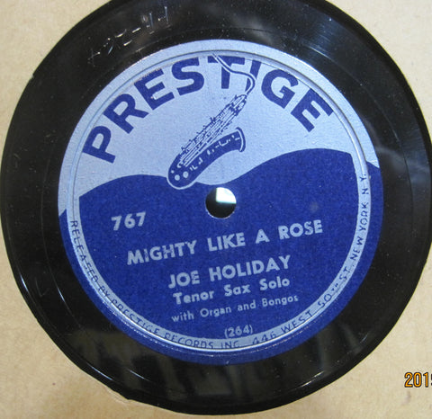 Joe Holiday - Mighty Like A Rose b/w This Is Happiness