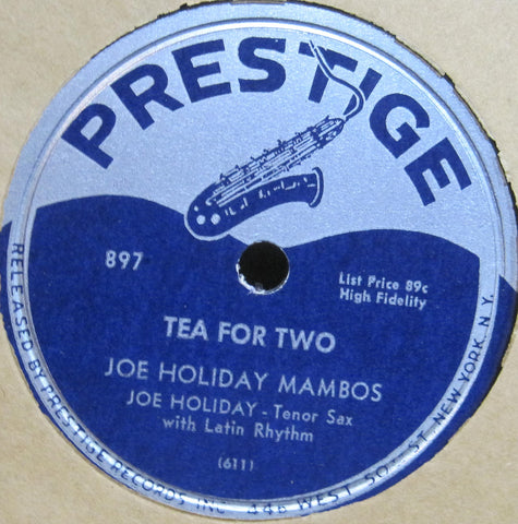 Joe Holiday - I Love You Much b/w Tea For Two