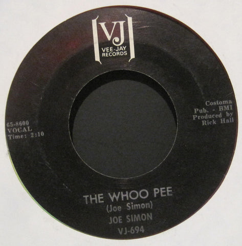 Joe Simon - The Whoo Pee b/w Let's Do It Over