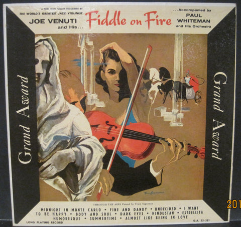 Joe Venuti - Fiddle on Fire