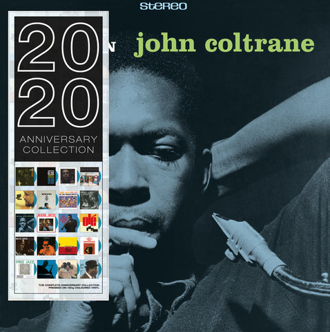 John Coltrane - Blue Train blue vinyl import 20/20 series